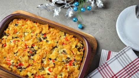 Hearty Holiday Breakfast Casserole