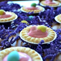 Raspberry Cream Mini Tarts