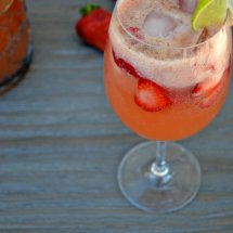 Strawberry Lime Sangria