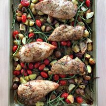 Honey Balsamic Sheet Pan Chicken