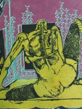 """Instant Savior with gold wings & a push-up bra & a fine disposition"" Detail 2"
