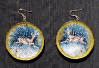 Deer Invasion earrings