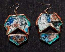 Lion-Ness earrings