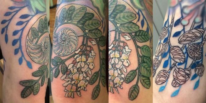 custom nautilus tattoo