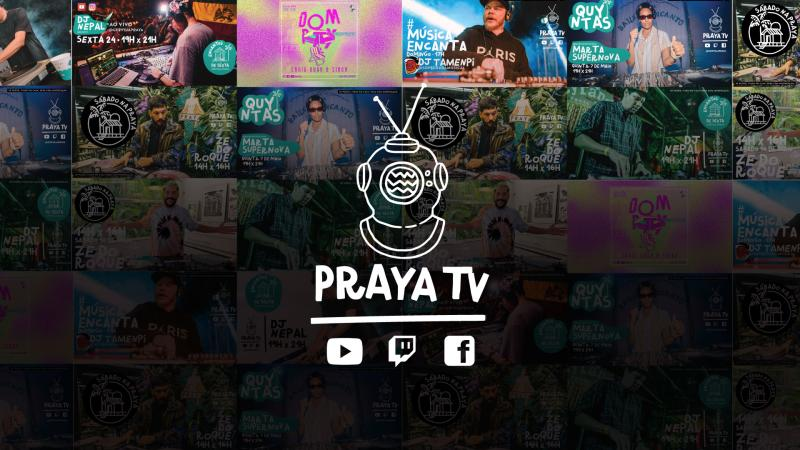 Um mergulho na Praya Tv