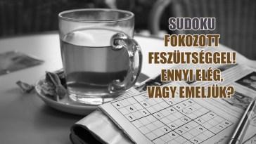 sudoku feszültséggel