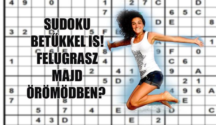 sudoku betűkkel