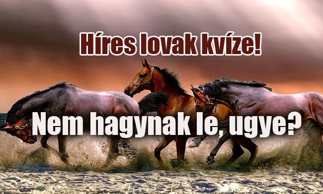 híres lovak