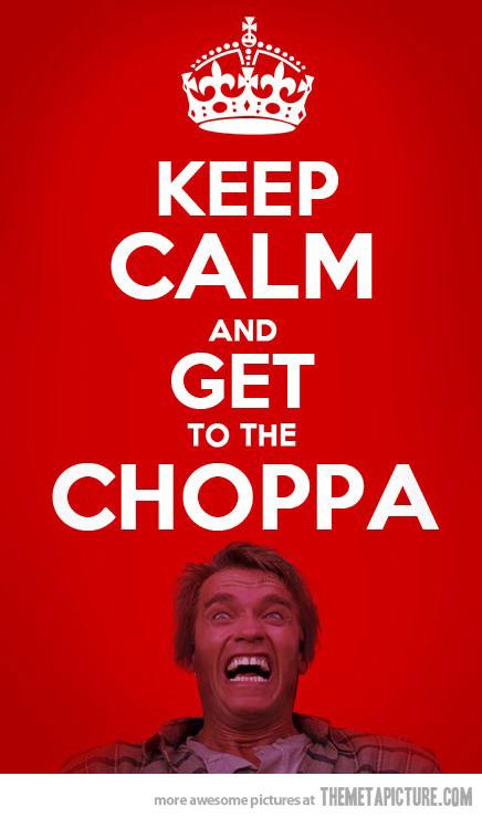 funny-get-to-the-choppa-meme