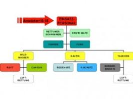 Struktur der Einsatzmannschaft