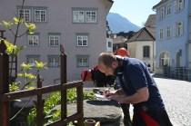 Hochwasserübung der ÖWR Vorarlberg