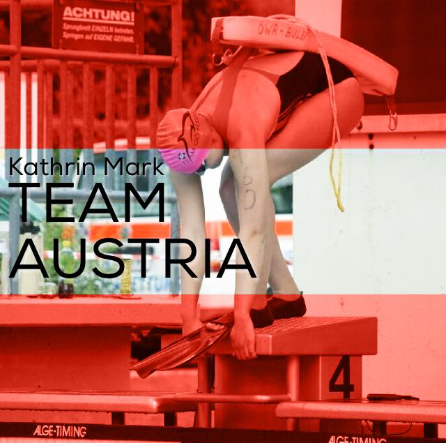 Kathrin Mark im TEAM AUSTRIA