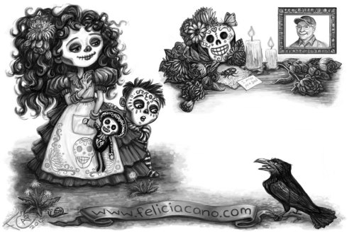 Day of the Dead Back, Digital