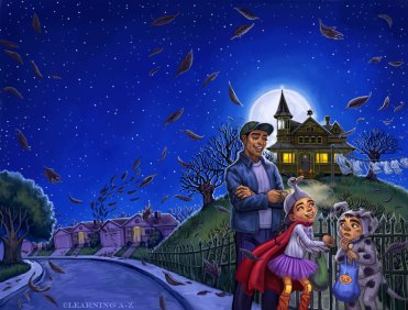 The Halloween House Cover ©Learning A-Z, Digital