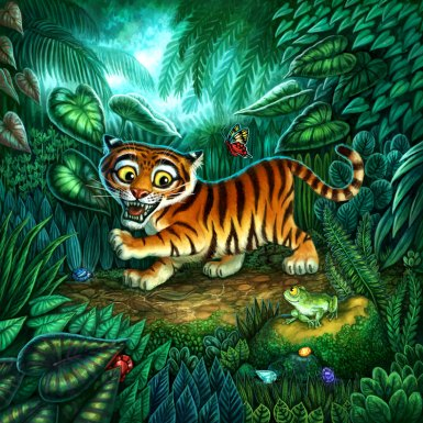Cover for Tiger Stripes ©Game Salute, Digital