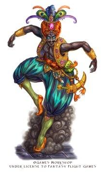 Djinn Blooded for Talisman ©Games Workshop, Digital