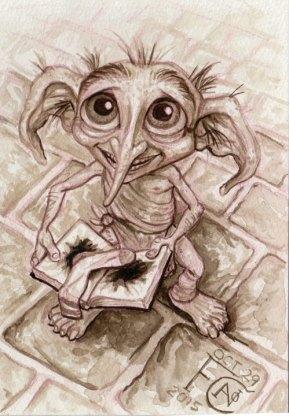 Dobby for Inktober