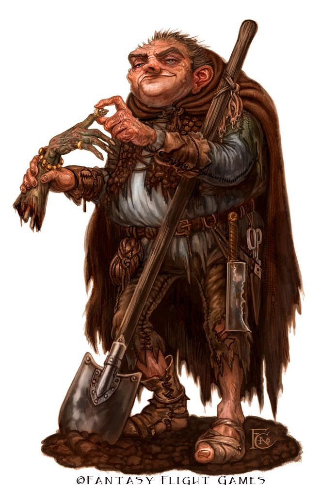 Grave Robber for Talisman ©Games Workshop, Digital