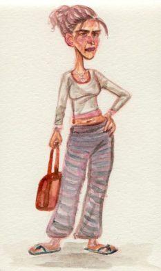 mcdonald's_woman-sketch2-Felicia_Cano
