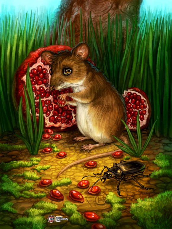 Mouse for Ravenous River ©AEG, Digital