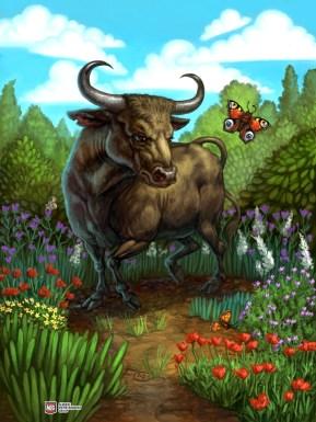 Bull for Ravenous River ©AEG, Digital
