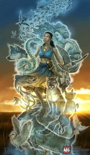 Dione- Spirit Whisperer for Mystic Vale ©AEG, Digital