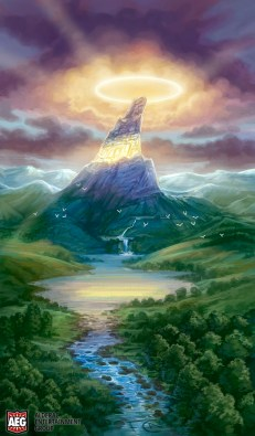 Halo Mountain for Mystic Vale ©AEG, Digital