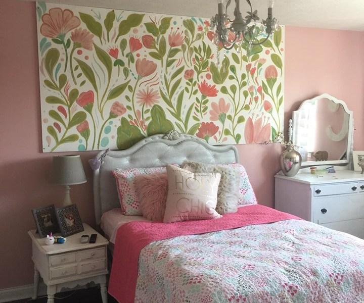 Charlie Jean's Bedroom Mural