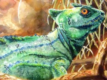 Eaden, Watercolor, Felicia Follum 17x11