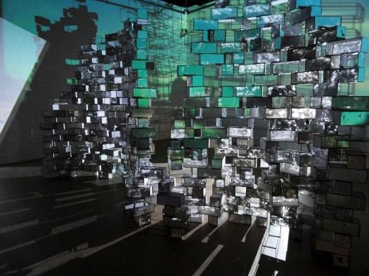F Glidden installation