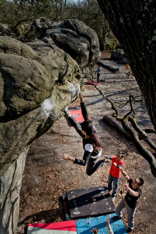 Fontainebleau Climber Mecca Ascendo Voyage