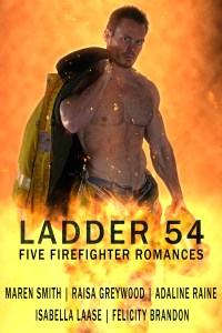 Book Cover: Ladder 54: Five Firefighter Romances