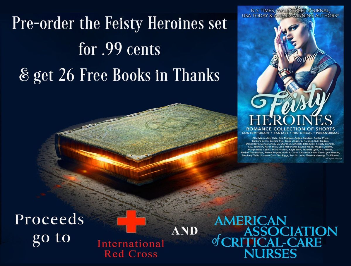 Have you pre-ordered your Feisty Anthology yet?