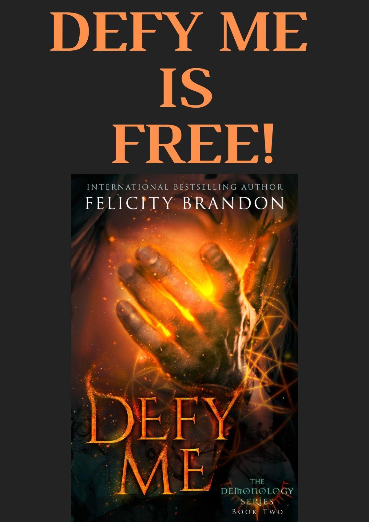 Defy Me is #FREE!