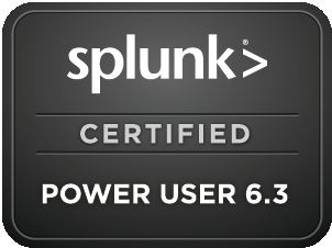 Splunk Power User Badge