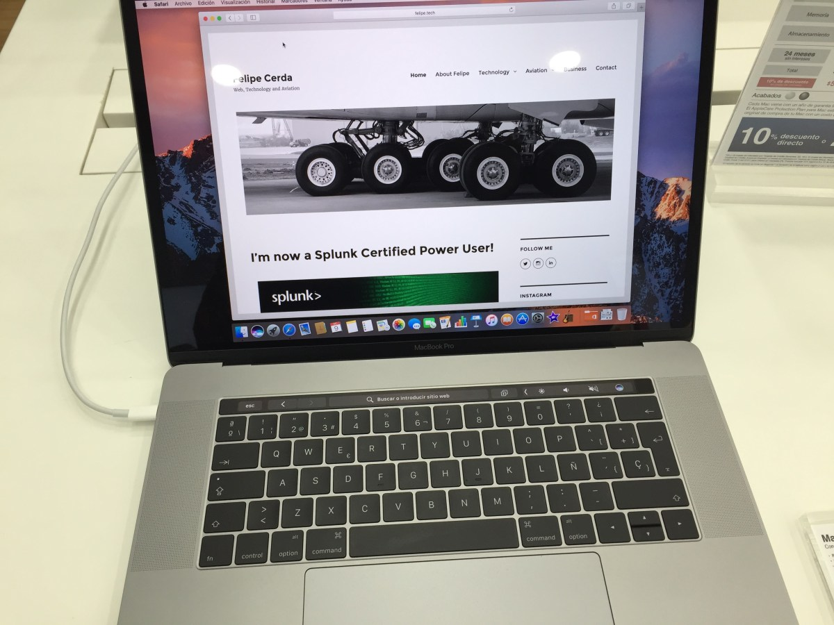 I tried the new MacBook Pro with Touch Bar, and it's better than I expected