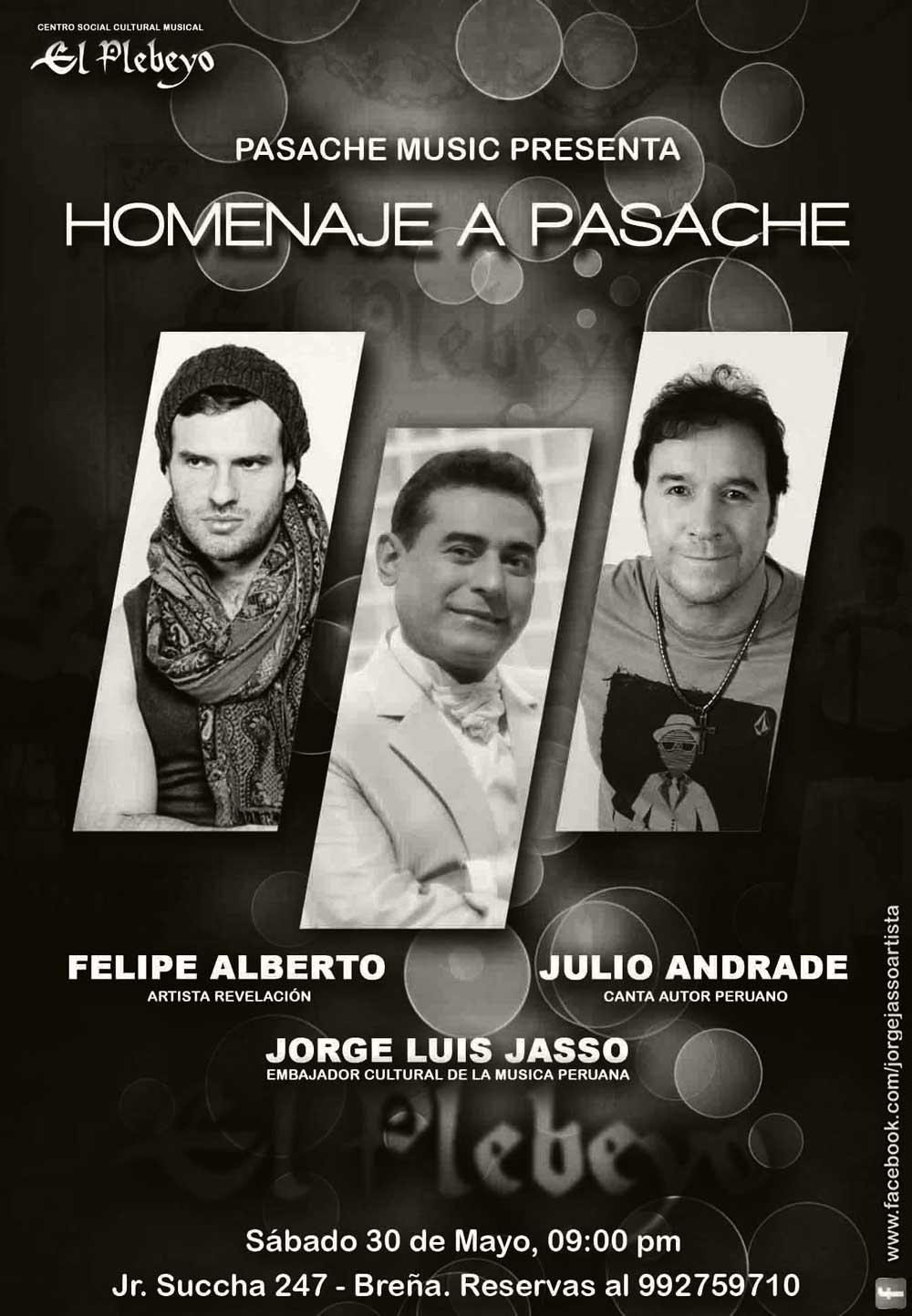 Felipe Alberto - Homejane a Pasache Concert 2015