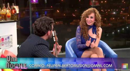 Felipe Alberto Interview with Janet Barboza on Willax Television