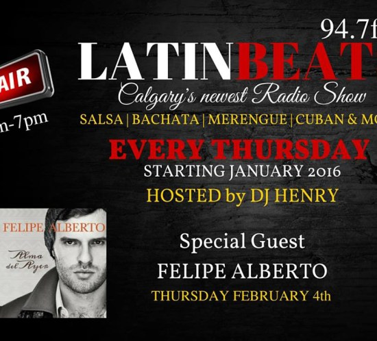 Felipe Alberto - Latin Beats - Fairchild Radio 94.7FM