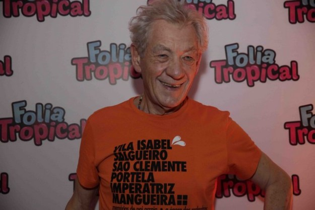 ator Ian McKellen, o Magneto do X-Men,Pedro Curi