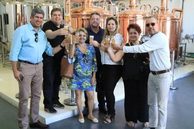 Alexandre Lima, Carol Feitosa, equipe Masterop e Nide Lins