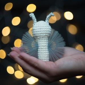 zabawka dla kota z walerianą motylek