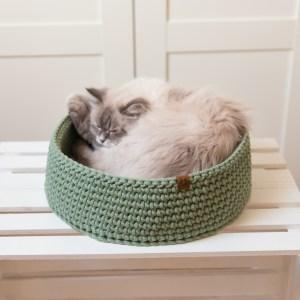 Legowisko dla kota ze sznura
