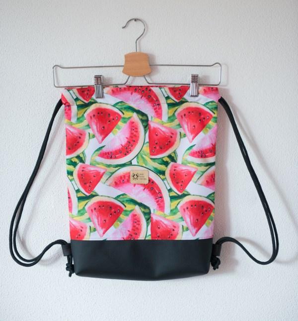 Plecak worek w arbuzy