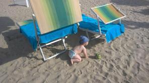 Cosmin in nisip