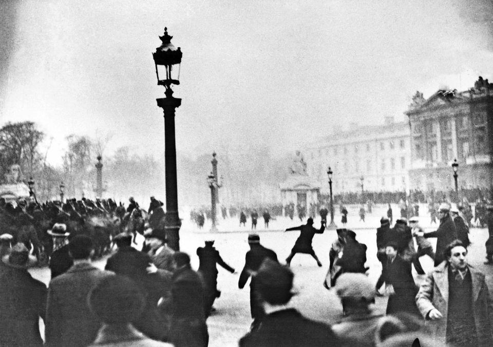 Journée grise de février 1934
