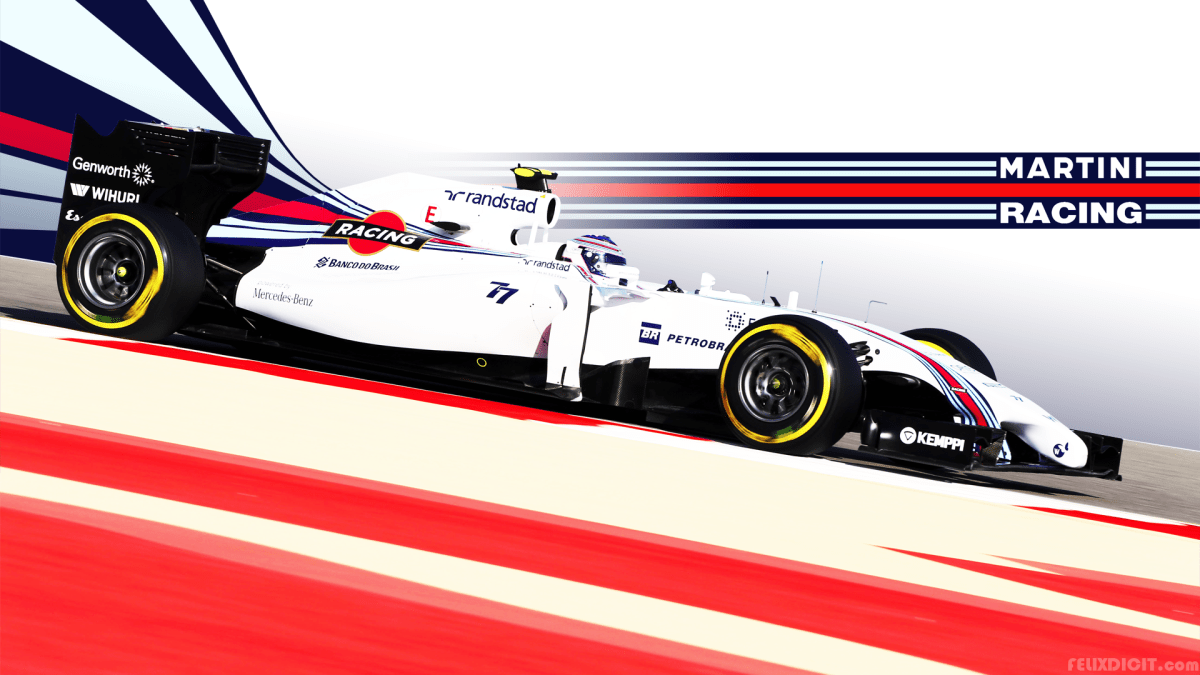 A Collection of Wallpapers: Williams Martini Racing