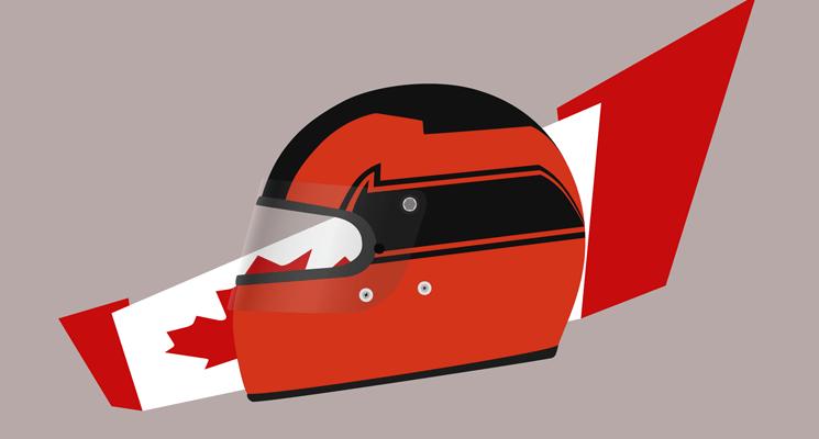 Design: Gilles Villeneuve's 1980 helmet