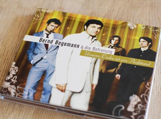 Bernd Begemann & Die Befreiung - Unsere Liebe Ist Ein Aufstand CD