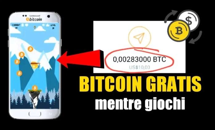 guadagnare bitcoin giochi gratis